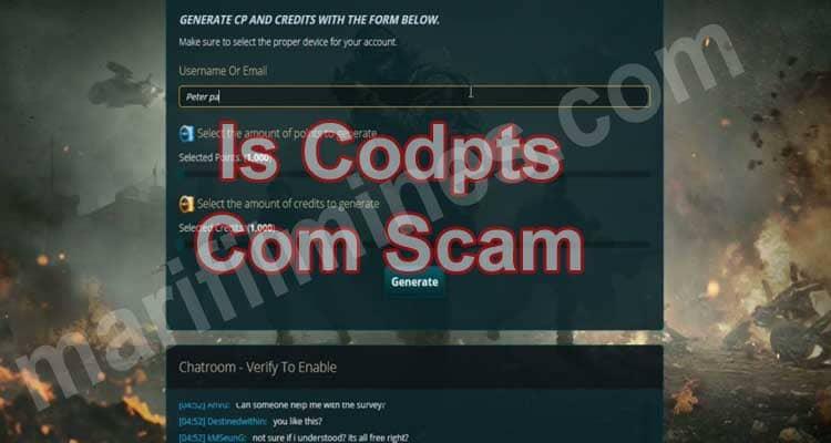 Is Codpts Com Scam (April 2021) Read The Reviews Below!