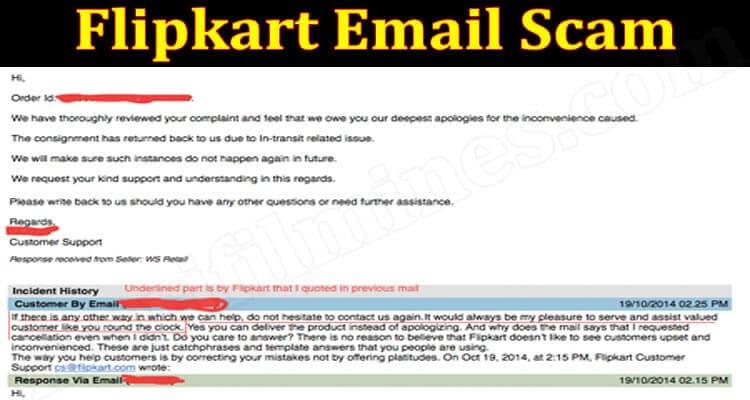 Flipkart Email Scam 2021.