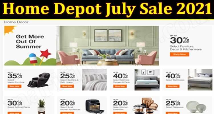 Home Depot July Sale 2021 (June 2021) Check Details!
