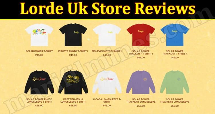Lorde Uk Store Reviews (June 2021) Is The Site Legit