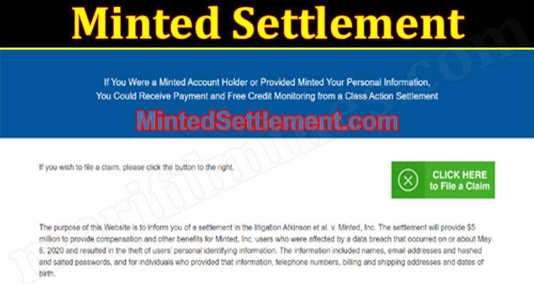 Minted Settlement 2021