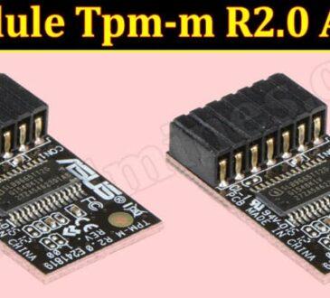 Module Tpm-m R2.0 Asus (June) Is The Product Legit