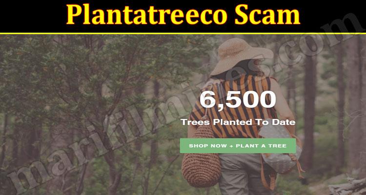 Plantatreeco Scam 2021.
