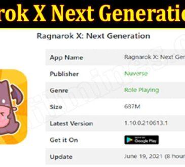 Ragnarok X Next Generation Apk {June} Read About It!