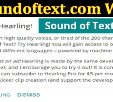 Soundoftext.com Web {Jun} Get The Complete Details!