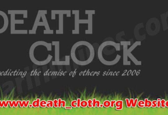 www.death_cloth.org Website 2021