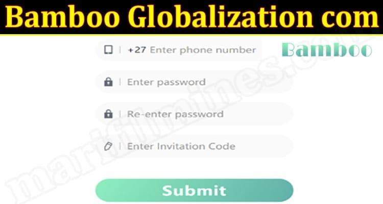 Bamboo Globalization com 2021.
