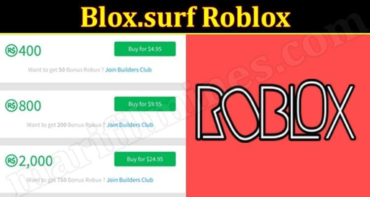 Blox.surf Roblox (July 2021)