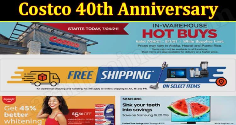 Costco 40th Anniversary
