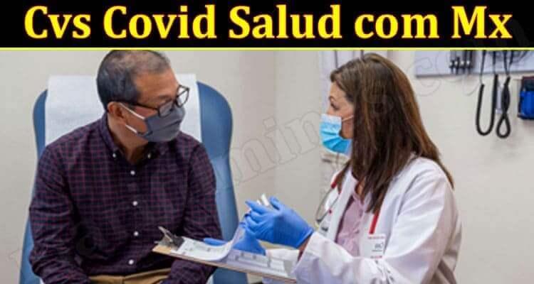 Cvs Covid Salud com Mx 2021.