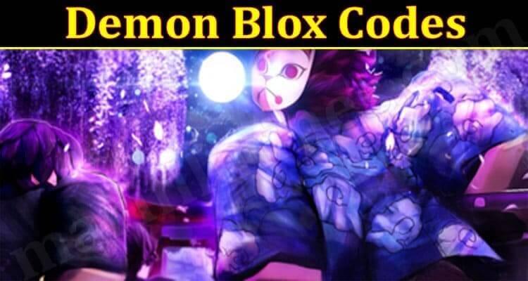 Demon Blox Codes 2021.