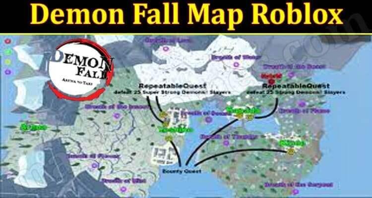Demon Fall Map Roblox 2021.
