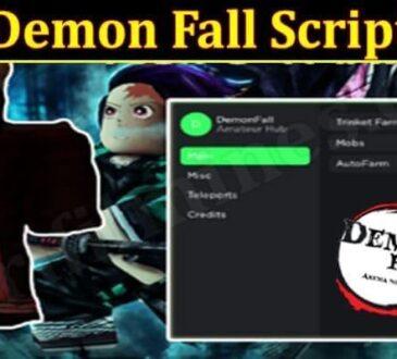 Demon Fall Script 2021.