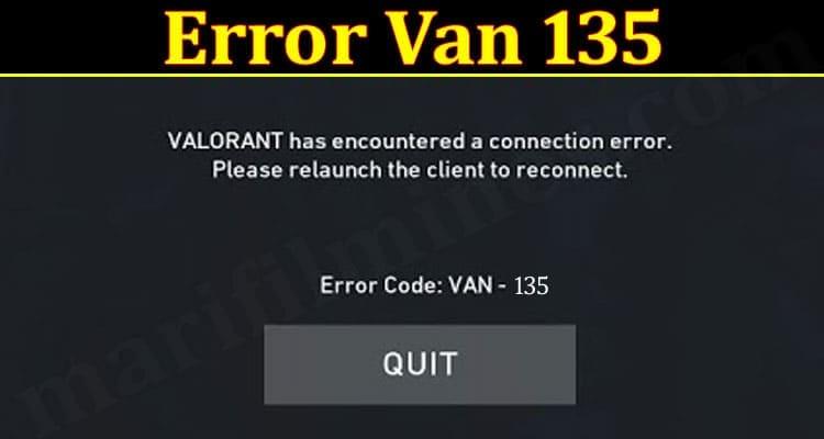 Error Van 135 2021.