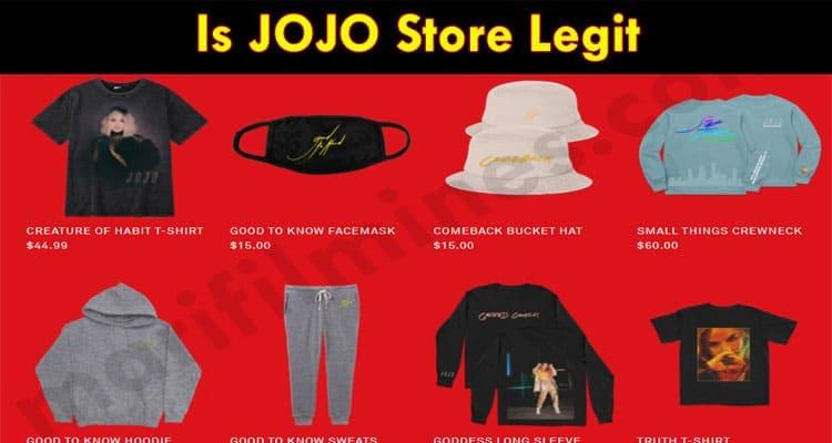 Is JOJO Store Legit 2021