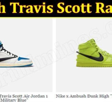 Kith Travis Scott Raffle 2021
