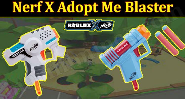 Nerf X Adopt Me Blaster 2021.