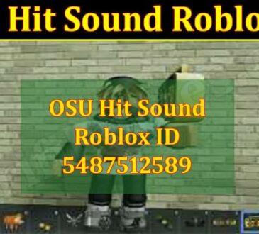 OSU Hit Sound Roblox ID
