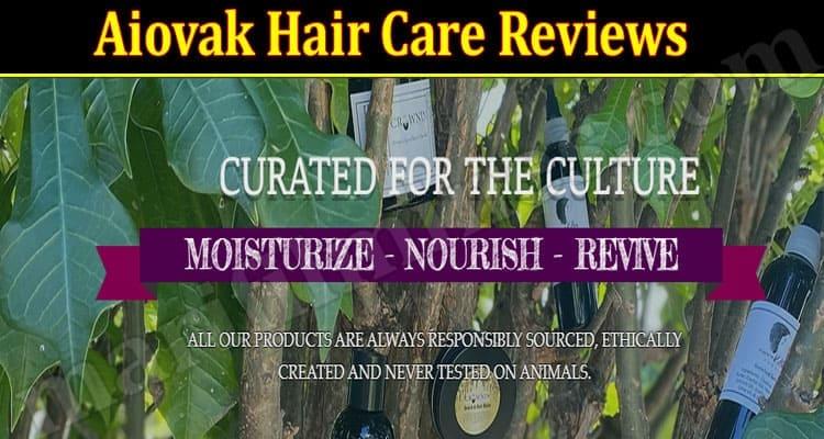 Aiovak Hair Care Reviews 2021