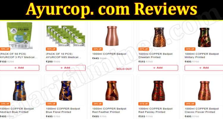 Ayurcop online Website Reviews