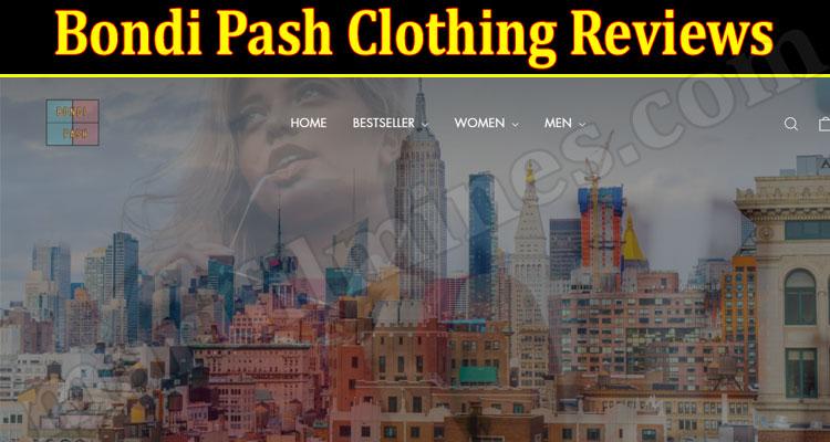 Bondi Pash Clothing Online Website Reviews