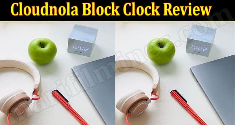 Cloudnola Block Clock Online Product Review
