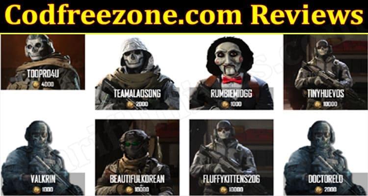 Codfreezone Online Ewbsite Reviews