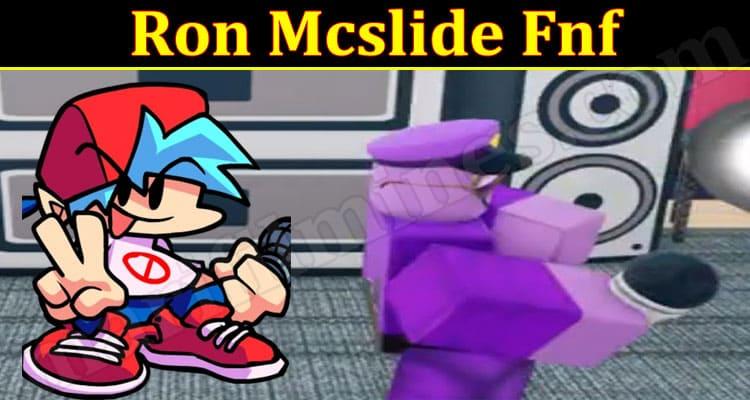 Gaming Tips Ron Mcslide Fnf