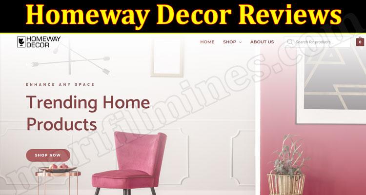 Homeway Decor Online website Reviews
