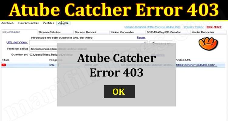 Latest News Atube Catcher Error 403