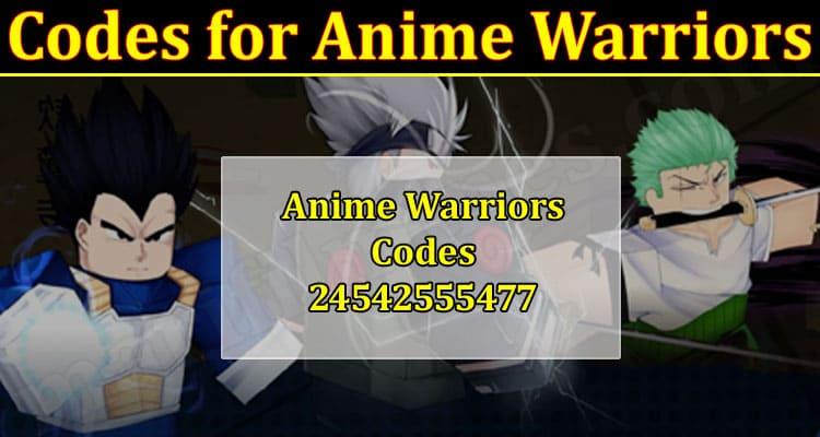Latest News Codes For Anime Warriors