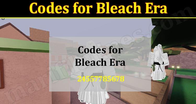 Latest News Codes for Bleach Era