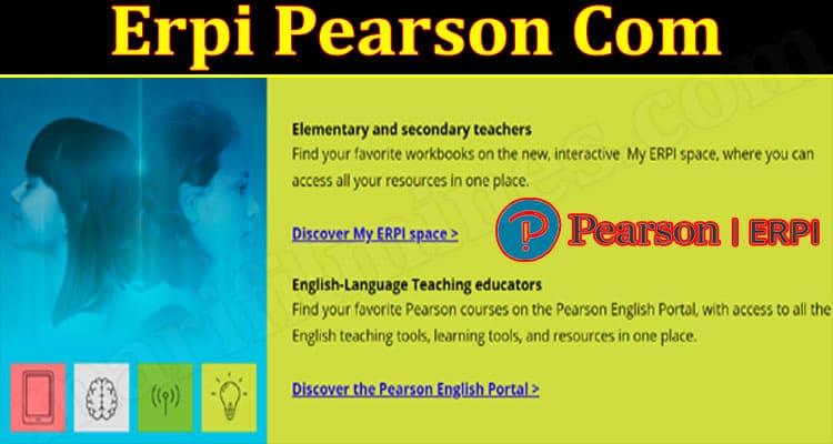 Latest News Erpi Pearson Com