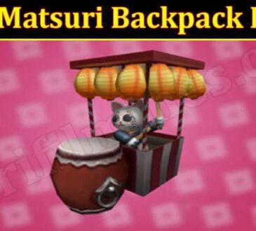 Latest News Matsuri Backpack Roblox