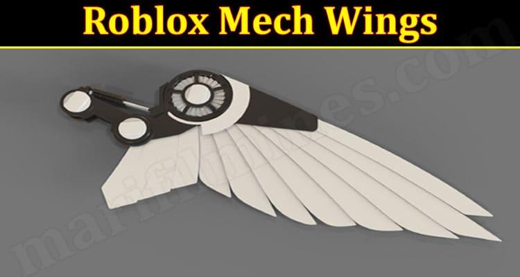 Latest News Roblox Mech Wings