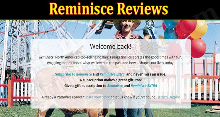 Reminisce Online website Reviews