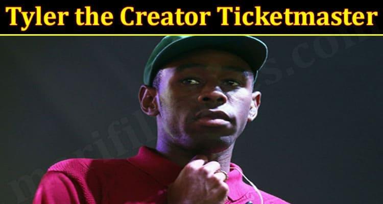 Tyler the Creator Ticketmaster 2021