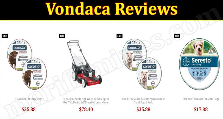 Vondaca online Website Reviews