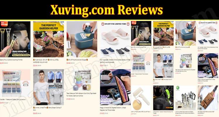 Xuvingonline Website Reviews.