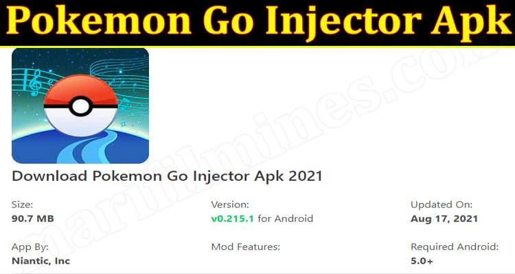 latest news Pokemon Go Injector Apk