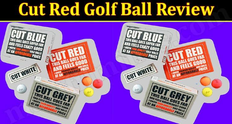 Cut Red Golf Ball Online Website Review