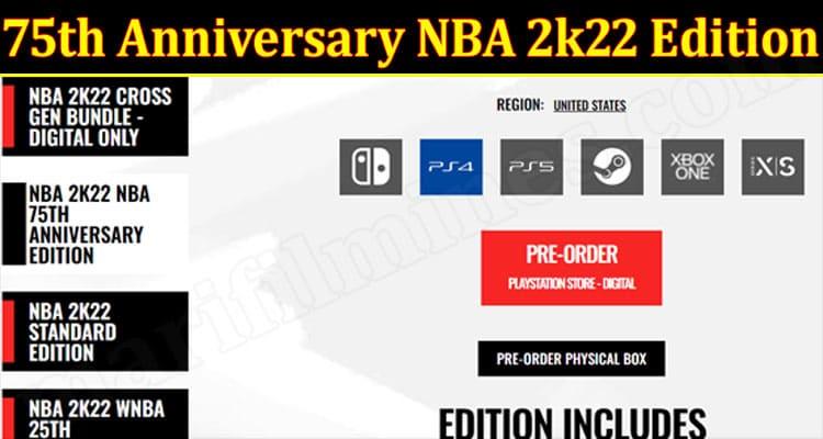 Gaming Tips 75th Anniversary NBA 2k22 Edition