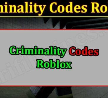 Gaming Tips Criminality Codes Roblox