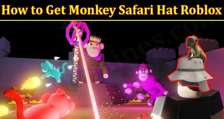 Gaming Tips Monkey Safari Hat Roblox
