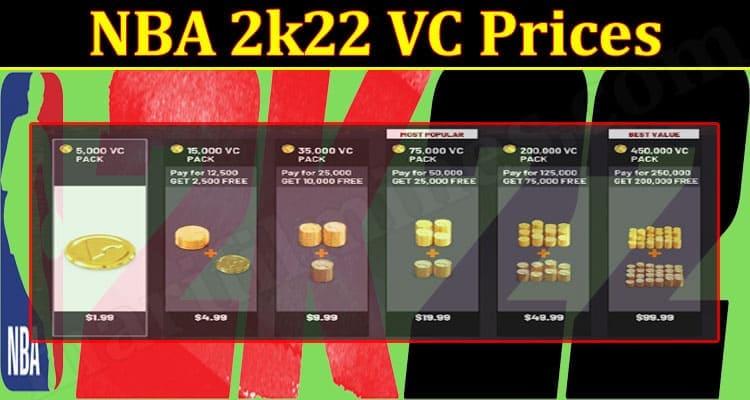 Gaming Tips NBA 2k22 VC Prices