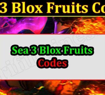 Gaming Tips Sea 3 Blox Fruits Codes