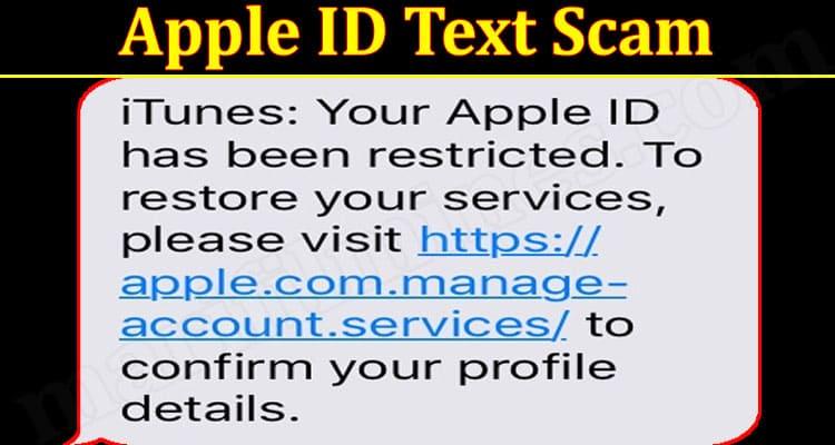 Latest News Apple ID Text