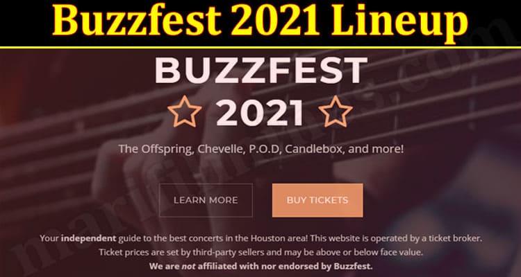 Latest News Buzzfest 2021 Lineup