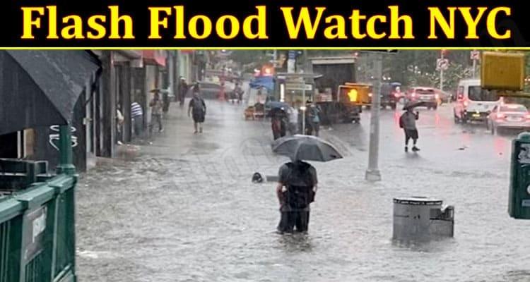 Latest News Flash Flood Watch NYC