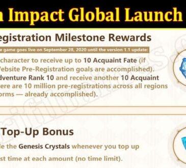Latest News Genshin Impact Global Launch Reward